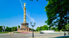 Victory column berlin Stock Footage