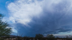 HD 30p Powerful Majestic Lenticular builds storm cell V1 - stock footage
