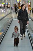 Airport terminal Stock Photos