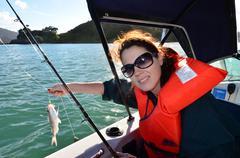 fishing - watersport - stock photo