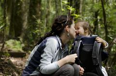 Baby and mother relationship - motherhood Stock Photos
