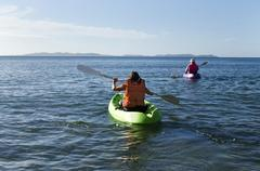 Meri urheilu - kanootti ja kajakki Kuvituskuvat