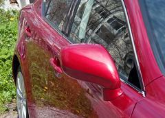 Car mirror Stock Photos