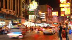 The China Town Stock Footage