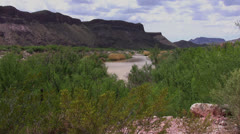 Rio Grande River 1 Stock Footage