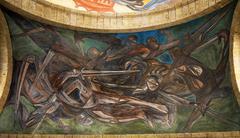 Orozco mural cabanas cultural institute guadalajara, mexico Stock Photos