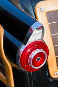 Fifties automobile taillight fin Stock Photos