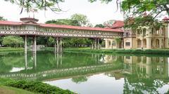 beutiful palace - stock photo
