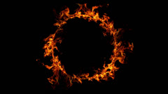 ring of fire - stock footage