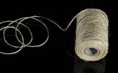 yarn coil - stock photo