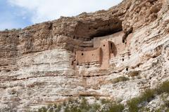 Montezuma castle national monument Stock Photos