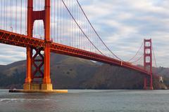 The Golden Gate Bridge in San Francisco California USA - stock photo