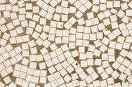 Stock Photo of irregular mosaic texture