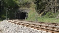 """Steam train """"Schwarzwaldbahn"""" Stock Footage"""