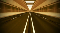 591 Road Tunnel new 01 A HD 1080p Stock Footage
