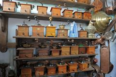 Coffee grinders Stock Photos