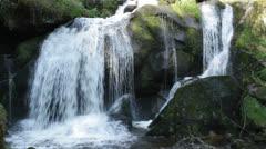 Triberg Waterfalls Detail Stock Footage