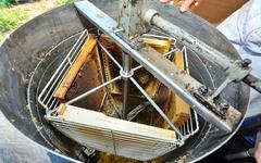 Honey extraction machinery Stock Photos