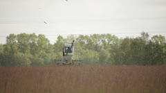 Haymaking time Stock Footage