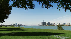 Detroit-Windsor 30 1 - stock footage