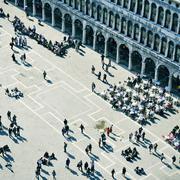 Piazza san marco in venice, italy Stock Photos