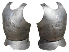 Armor medieval knight Stock Photos
