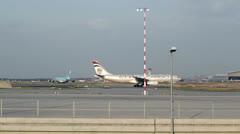 Etihad Cargo Airplane - stock footage