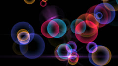 Circles color 4k Stock Footage