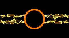 Ring Logo Orange Stock Footage