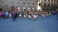 San Giovanni festival parade in florence - italy, jun 16, 2013 Stock Footage