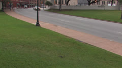Dealy Plaza & School Book Depository 1 Stock Footage
