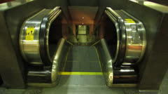 Escalator Stairs HD Stock Footage