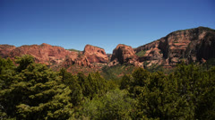 Zion Dolly LM01 Kolob Canyon Stock Footage