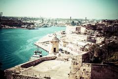 Stock Photo of old valletta, capital city of malta