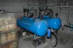 Air compressors Stock Photos