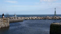 Bornholm - danish isle Stock Footage