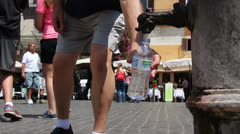 Heat wave in Rome (4) Stock Footage