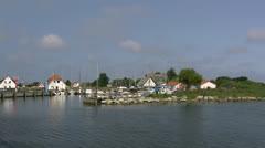 Hiddensee Island - Baltic Sea, Northern Germany Stock Footage