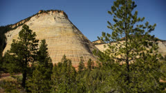 Zion Dolly LM09 Checkerboard Mesa Stock Footage