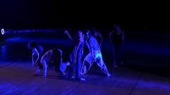 Performance of ballet troop Stock Footage