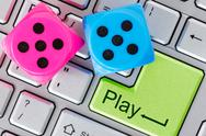 Stock Photo of online gaming concept
