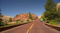 Zion Driving LM06 Vehicle Shot Checkerboard Mesa Footage