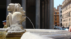 Heat wave in Rome (8) Stock Footage