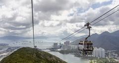 Lantau island hong kong Stock Photos