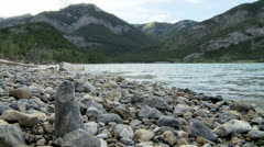 Barrier Lake 1 Stock Footage
