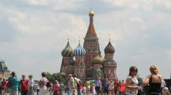 Saint Basil Cathedral Stock Footage