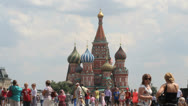 Stock Video Footage of Saint Basil Cathedral