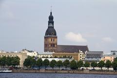 Riga dome cathedral, Latvia - stock photo