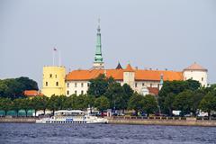 Riika presidentti linna, Latvia Kuvituskuvat