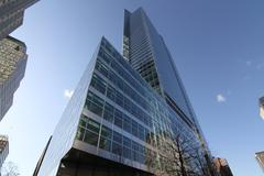 Goldman Sachs Tower - 200 West Street Stock Photos